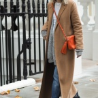 Maxi coats and stomping boots