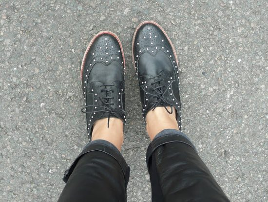 Brogues in Black: A Frugal Purchase