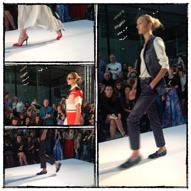 BTS London Fashion Week Alexandra Stedman
