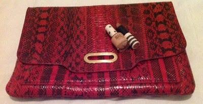 Alexandra Stedman Red Bag