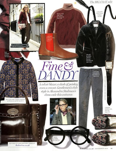 Red Magazine: November Issue My Editor's Choice