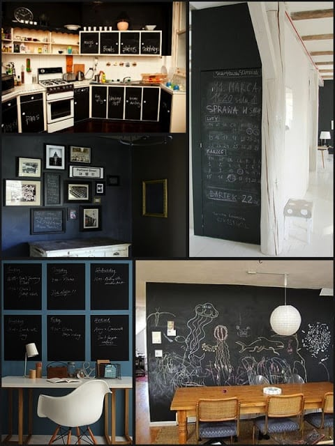 Do it yourself chalkboard - The Frugality
