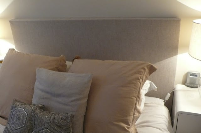 DIY: Headboard Grey