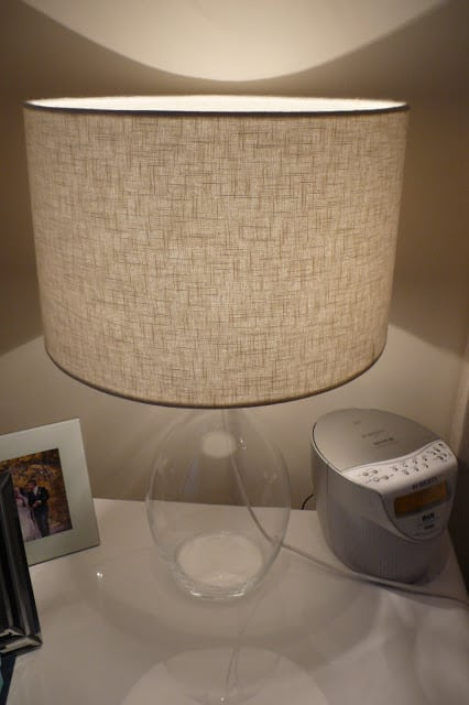 Grey lamp - The Frugality House