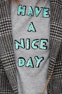 Alex Stedman - have a nice day t-shirt