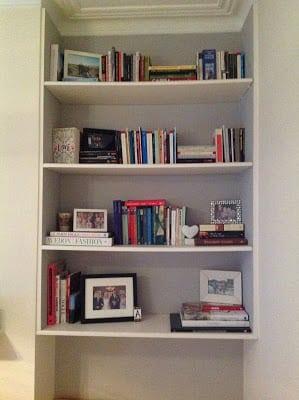 Before the bookshelf revamp