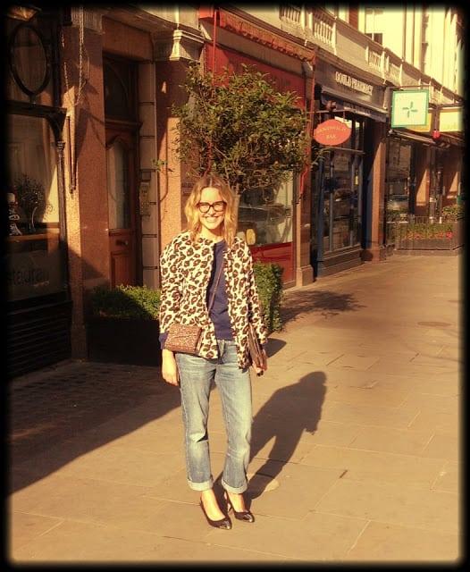 Alexandra Stedman at London Fashion Week