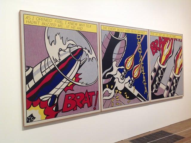 Lichtenstein at Tate modern