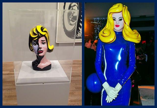 art and fashion merge