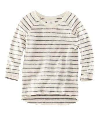 striped H&M sweater