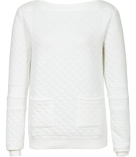white jumper Reiss