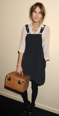 Outfit post: Pinafore dress
