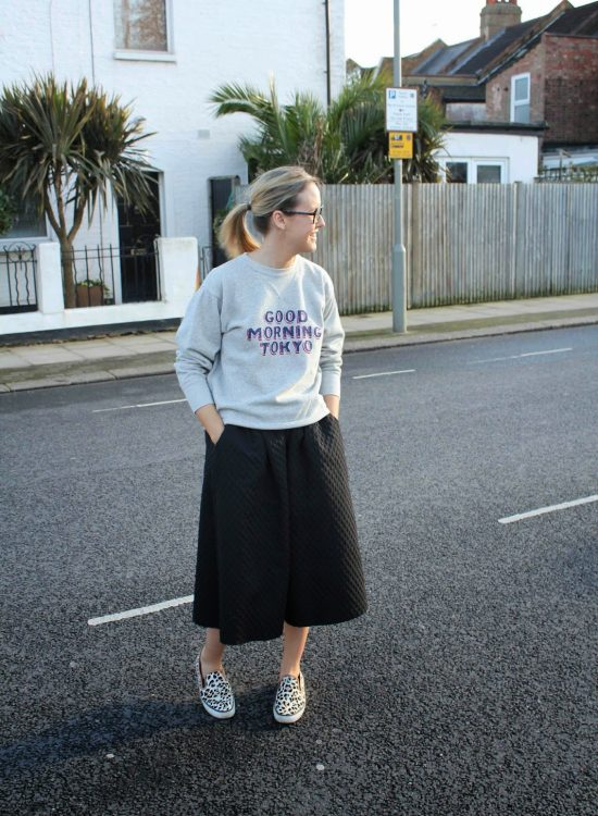 How to wear your full skirt…