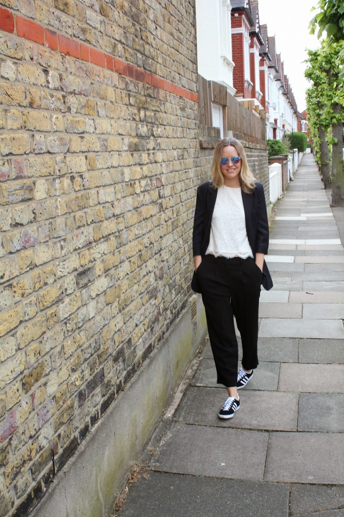 All Saints Gato Cropped top