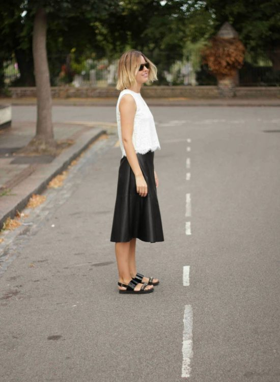 Frugal buy: Next faux leather skirt