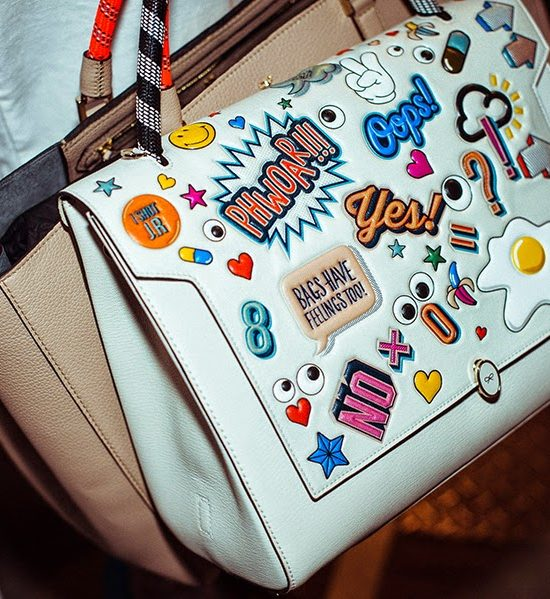 Last minute Gift: Anya Hindmarch's Sticker Shop