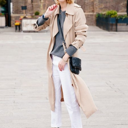 How to wear white jeans, now