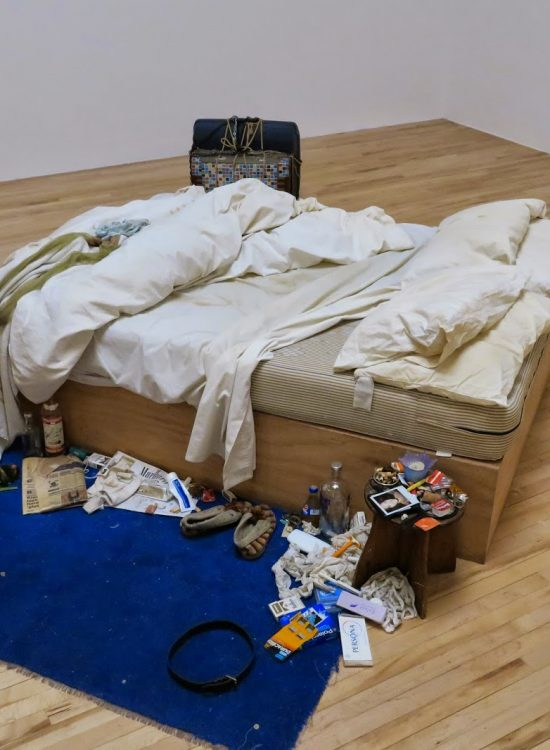 Tracey Emin at Tate Britain (it's free)