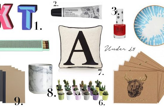 The Frugal Gift Guide: Under £20