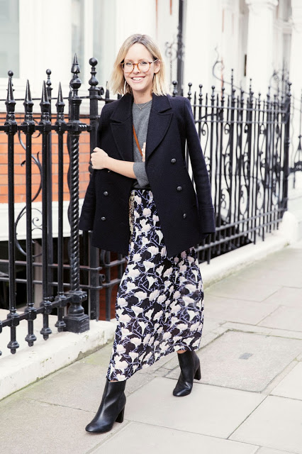 How to wear florals now