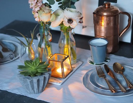 Table settings that look way more expensive than they really are