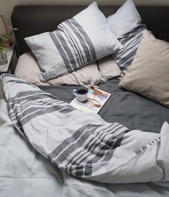 Interiors: Linen sheets