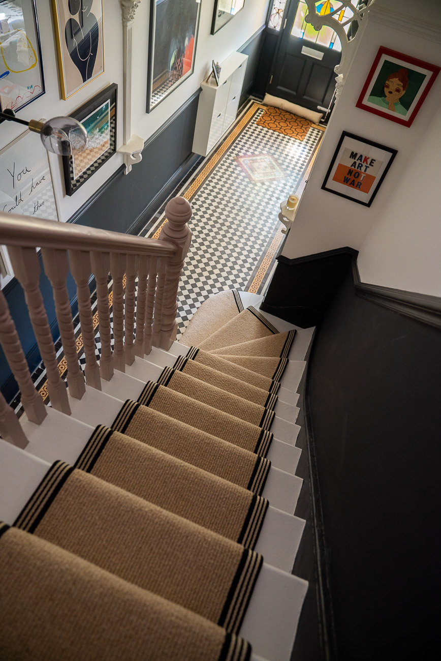 How To Achieve Your Perfect Stair Runner The Frugality
