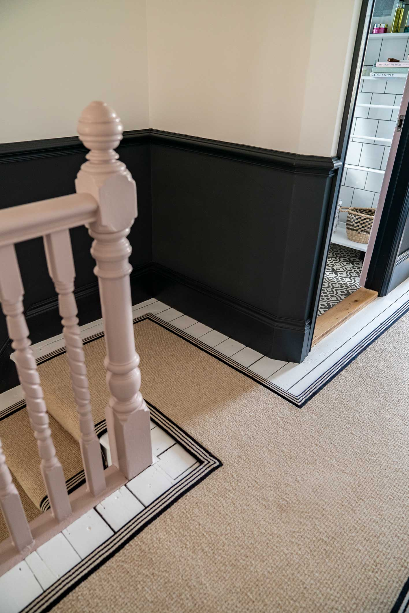 Image of: How To Achieve Your Perfect Stair Runner The Frugality