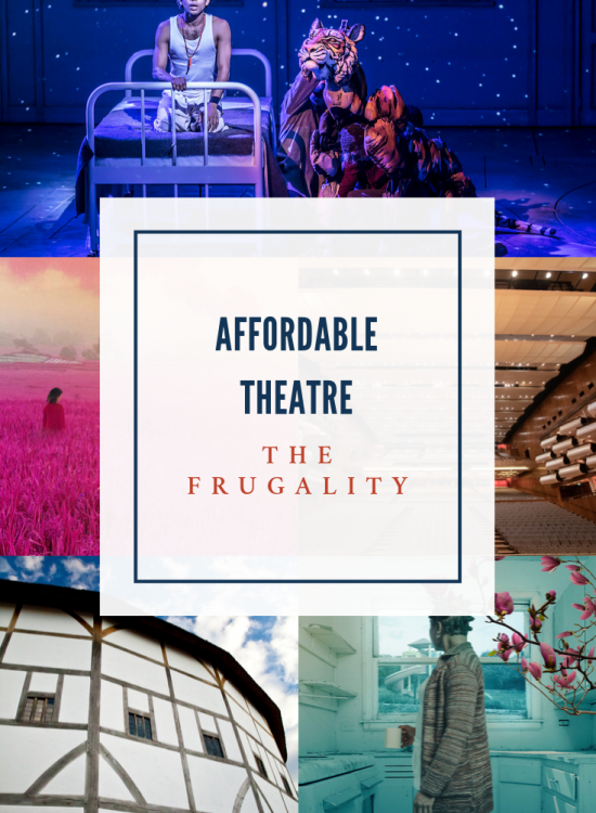 Tips and tricks for affordable theatre