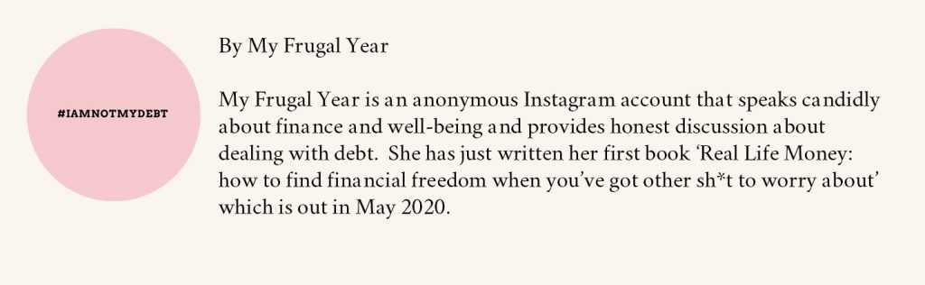 My Frugal Year Bio