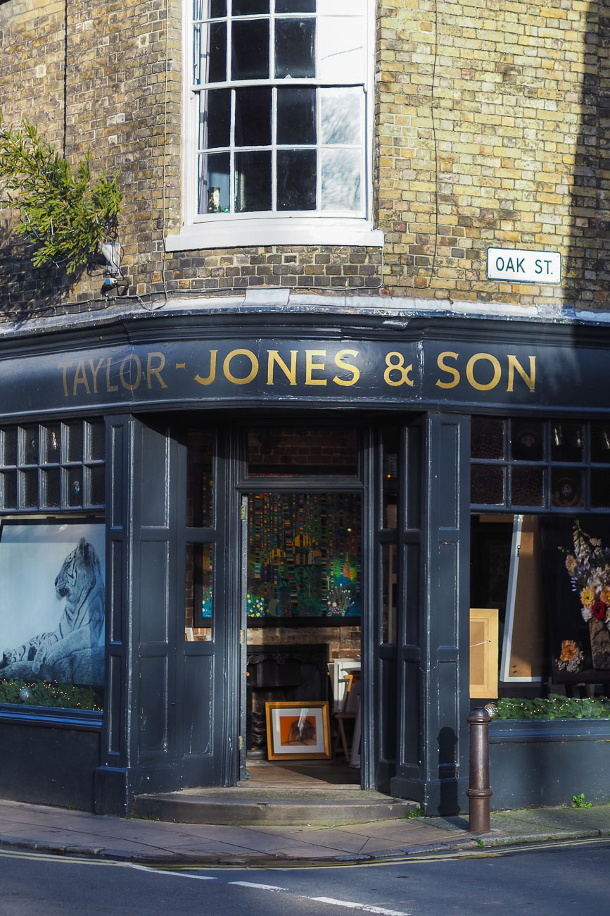Taylor-Jones & Son art dealers in Deal, Kent.