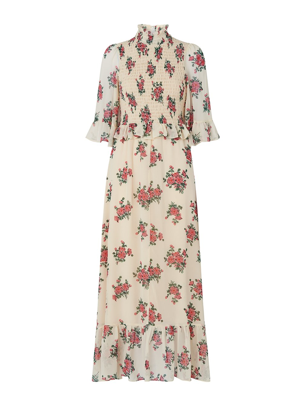 Vintage floral print dress from Kitri.