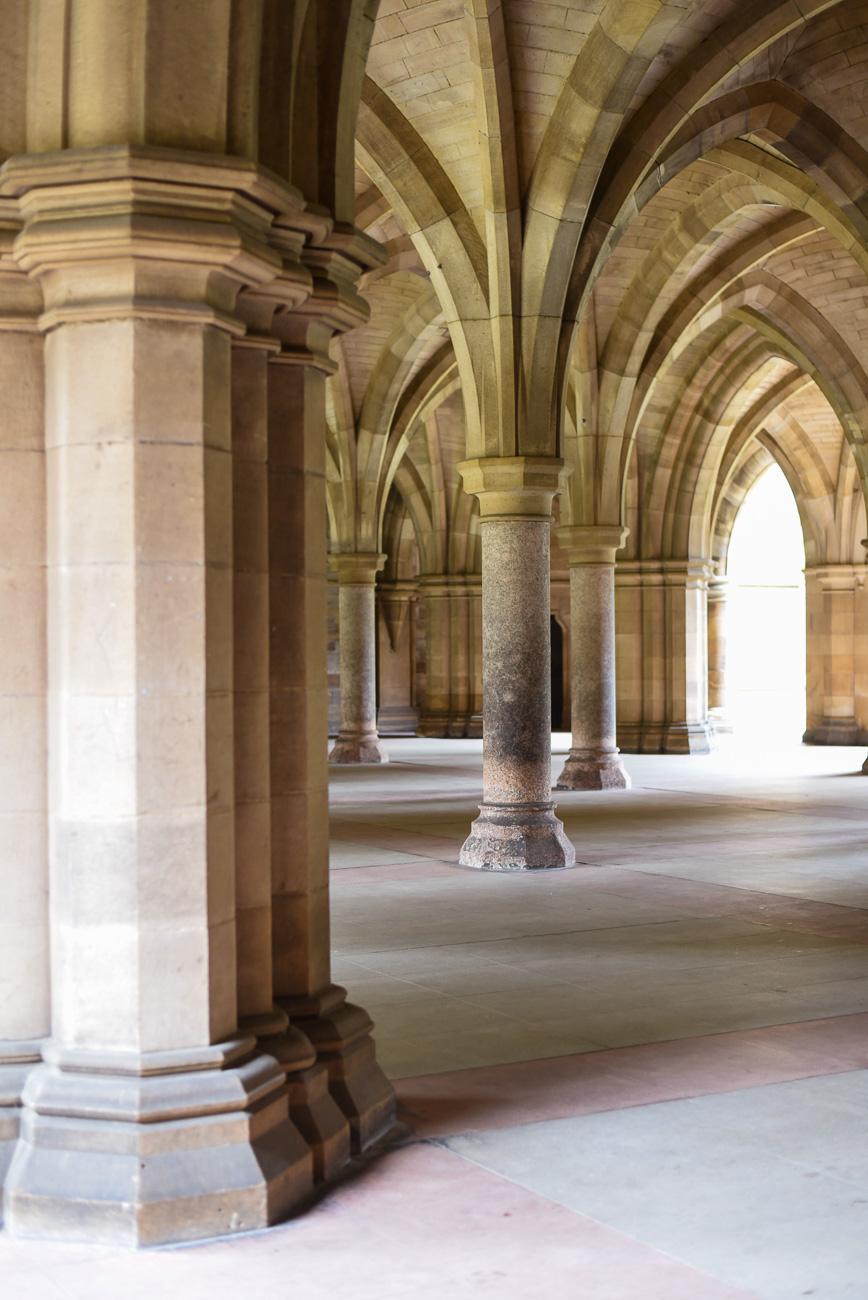 Glasgow University.