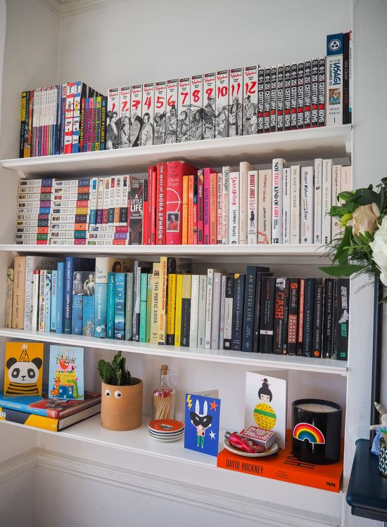 A little reorganisation (and a few of my favourite books)