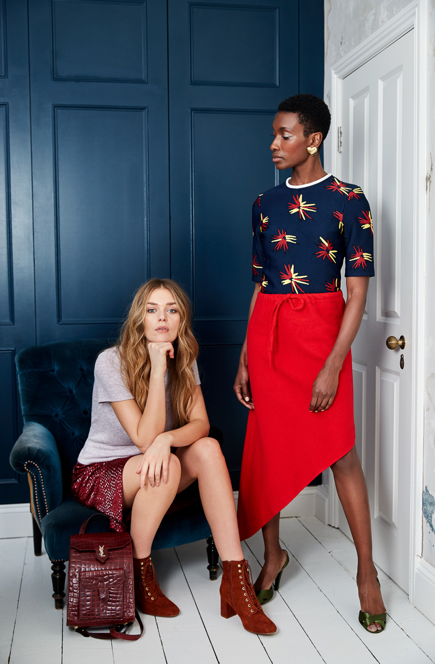 A shoot styled by Emma for Cancer Research UK using product found in their stores